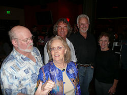 Jerry and Barry with Anne Black and Bob Haag in Tucson